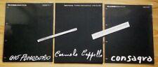 ALESSI D'APRES... GIO POMODORO / CONSAGRA / CAPPELLO Design italien 70 acier