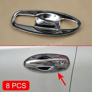 Chrome Door Handle Molding Trim Cover Protector For Nissan X-Trail T32 2014-2020