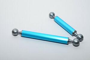Doppio braccio in alluminio SLM-SUB 23cm + 17cm con sfere standard 25mm
