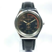 Vintage Citizen Automatic Movement Date Dial Mens Analog Wrist Watch A447