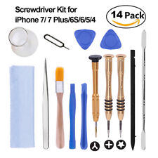 14pc Pro Mobile Phone Opening Tool Kit Screwdriver Set for Repair iPhone 7 8 X