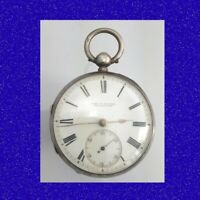 Stunning Silver Chain Fusee John Hutton of Edinburgh  Massey 3 Pocket Watch 1851