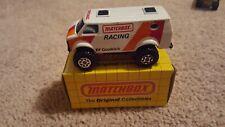 Matchbox Superfast 44 4x4 Chevy Van Racing and box