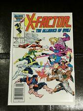 X-FACTOR #5 (1986) MARVEL COMICS 🎇 1 st CAMEO APPEARANCE OF APOCALYPSE 🎇