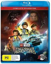 The LEGO Star Wars - Freemaker Adventures : Season 1 (Blu-ray, 2016)