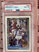 1992 topps shaquille o'neal 362