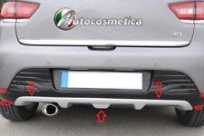 spoiler sottoparaurto posteriore modanatura colore neutro Renault CLIO IV