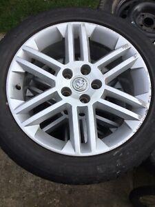 Vauxhall 17 Inch Alloy Wheels 5 Stud GSI, SRI  Vectra X4