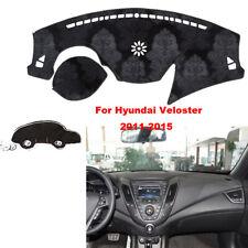 For Hyundai Veloster Car Dashmat Pad RHD Dashboard Cover Carpet Dash Mat