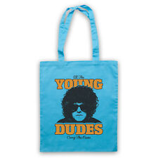 ALL THE YOUNG DUDES MOTT THE HOOPLE UNOFFICIAL ROCK TOTE BAG LIFE SHOPPER