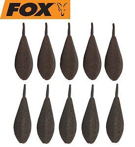 10 Fox Horizon Inline Leads Bleie Karpfenbleie Blei für Karpfenmontagen