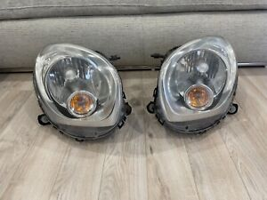 11 - 16 Mini Cooper countryman headlights set left and right halogen used oem