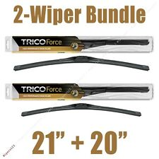 "2-Wipers: 21"" + 20"" Trico Force All-Season Beam Wiper Blades - 25-210 25-200"