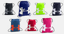 Under Armour Ozsee Sackpack UA Drawstring Backpack Sack Pack Gym Bag All Sport