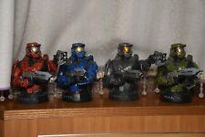 Halo 3 Master Chief Bust Set Gentle Giant Sideshow Weta Mcfarlane NECA X BOX 360
