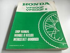 Werkstatthandbuch VF 500 F / FII (1984) (PC12)
