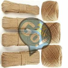 3-6mm Natural Binding jute rope braided Hemp twisted Handwork