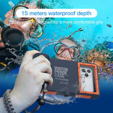 49FT Underwater Waterproof shockproof Diving Case For iPhone 11 Pro Max XR XS