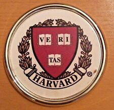 Harvard School Paperweight Coaster Ve Ri Tas Veritas Logo Ve-Ri-Tas