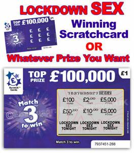 ADULT XXX SEX GAME Scratchcard Scratch Card Sexy Birthday Gift Bedroom Lockdown