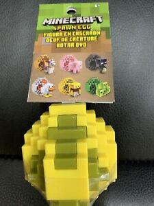 Minecraft Spawn Egg YELLOW & GREEN Mini Figure ~ FREE USA SHIPPING!