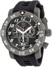 Invicta 17528 Men's Sea Base Titanium Black Polyurethane Watch