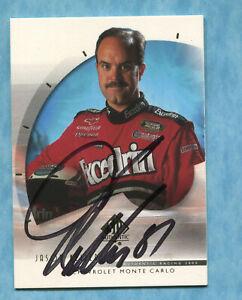 SIGNED 2000 Upper Deck SP #43 Jason Keller - Autographed Card NASCAR Auto