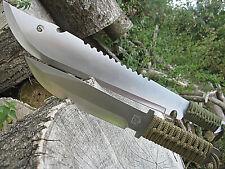 2 in 1 MACHETE Messer BUSCHMESSER AXT SÄGE  Beil Outdoor Angeln Jagd