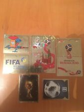 panini world cup 2018 stickers foils choose from list