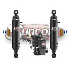 02-06 Cadillac Escalade Rear Active Suspension to Air Shocks with Compressor Kit