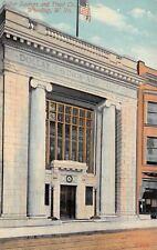 Wheeling West Virginia~Dollar Savings & Trust~Bank Close Up~Piano Store~1908 PC