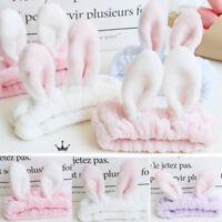 Stylish LadiesCute Bow Rabbit Bunny Ear Ribbon Hair Band Wire Headband Wrap Gift