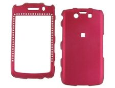Diamond Rubberized Case Pink For BlackBerry Storm 2