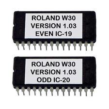 Roland W-30 Latest OS v1.03 Firmware Upgrade sampler W30