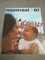 Expo 1967 Montreal   World's Fair Program   French and English   Canada
