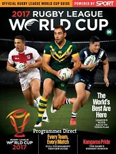 RUGBY LEAGUE WORLD CUP 2017 OFFICIAL TOURNAMENT GUIDE PROGRAMME