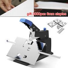 Manual Desktop Stapler Saddle Stitching Saddle Convert Max Bind Thick 65mm