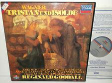 D250D 5 Wagner Tristan Und Isolde Welsh National Opera Reginald Goodall 5LP Box