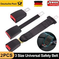 2X Auto Sicherheit Sitzgurt Extender Verlängerung Schnalle Adjustable DE