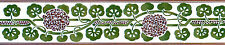 Mural Ceramic Bath Backsplash Art Nouveau Border Tile #553