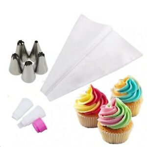 30cm x 28.5cm Dual Piping 10,20,30 Bag, Cup Cake Icing Decoration Home Backing