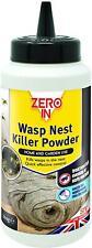 Zero In Wasp Killer Powder Nest Control Indoor Outdoor Home And Garden 300g