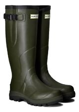 WAREHOUSE SALE New Mens Balmoral Classic Hunter Wellington Boots Green Size 10