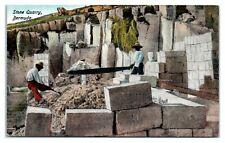 Stone Quarry, Bermuda Postcard *6S(4)29