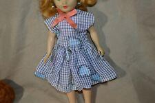 Vintage Doll Dress Fits Jill Miss Nancy Ann Cissette Size Doll