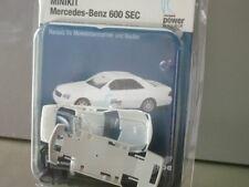 Mercedes 600 SEC Kärcher Cleanpark Power Club Herpa Minikit Sondermodell 1:87