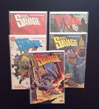 DOC SAVAGE #1-5 Comic Books DC 2nd Series 1988 VF/NM Kubert Copper Age Pulp