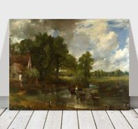 JOHN CONSTABLE - The Hay Wain - CANVAS ART PRINT POSTER -24x16""