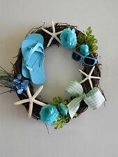 """Door Wreath/Wall Decor 18"""" Nautical wreath."""