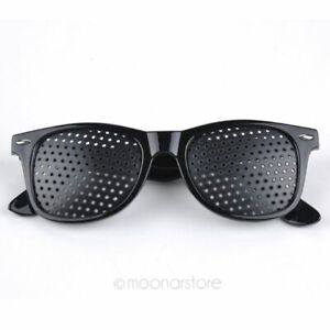 Vision Spectacles Eyesight Improver Pin Hole Eyes Training Exercise Glasses Eyew